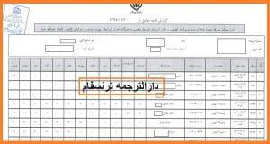 ترجمه رسمی سوابق بیمه تامین اجتماعی